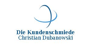 "Christian Dubanowski - ""Die Kundenschmiede"" Logo"